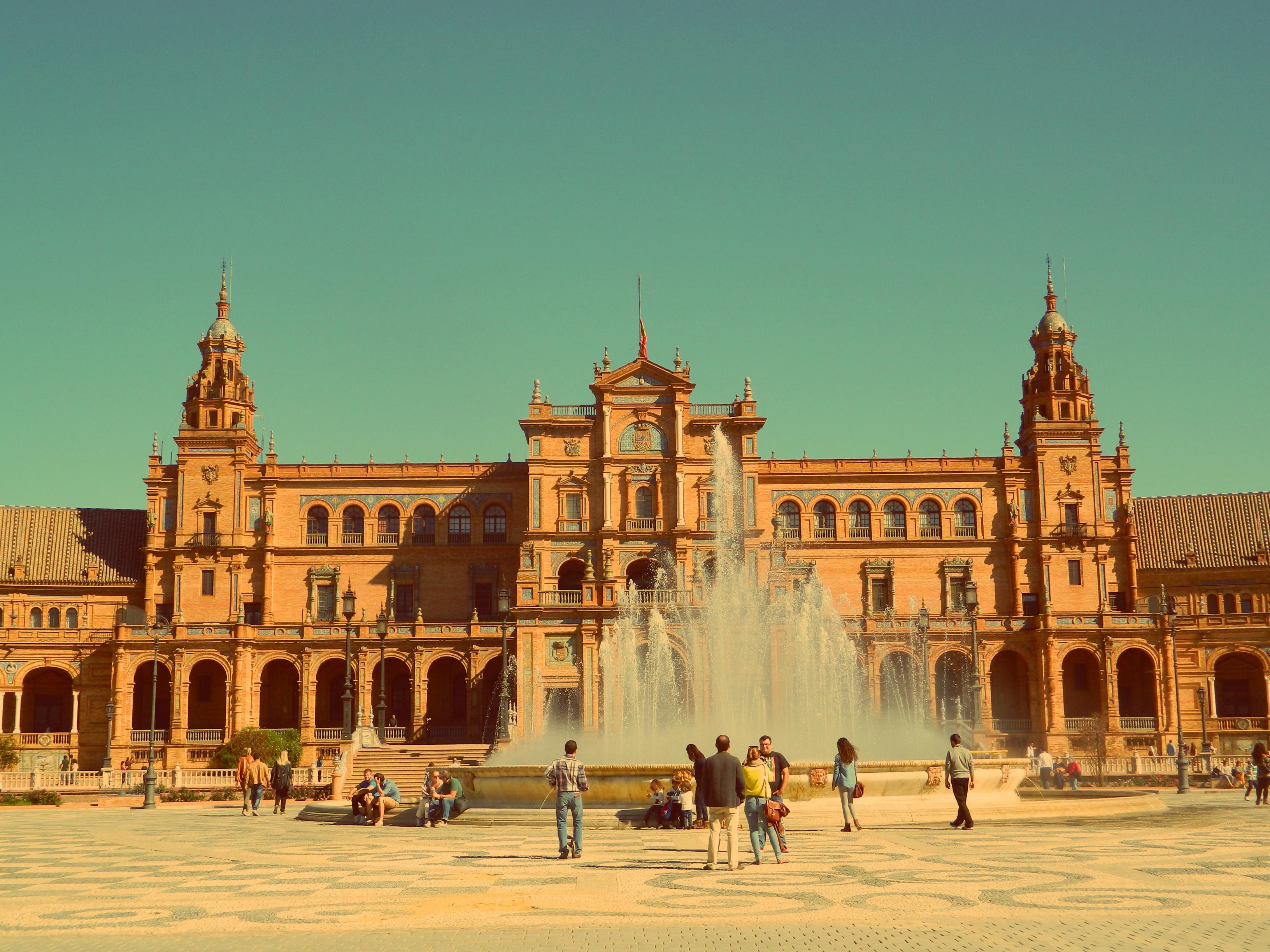 Sewilla_Plaza de Espana